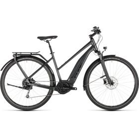 Cube Touring Hybrid 400 - Vélo de trekking électrique - Trapez gris